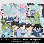 Follow Your Imagination Add On Pack-$4.99 (Laura Burger)