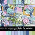 Follow Your Imagination Combo Pack-$8.99 (Laura Burger)