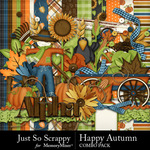 Happy Autumn Mini Kit-$4.99 (Just So Scrappy)