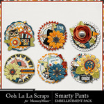 Smarty Pants Cluster Seals Pack-$1.99 (Ooh La La Scraps)