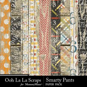 Smarty pants worn wood papers medium