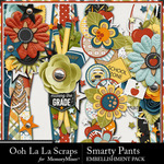 Smarty Pants Page Borders Pack-$1.99 (Ooh La La Scraps)