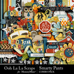 Smarty Pants Combo Pack-$4.99 (Ooh La La Scraps)