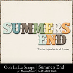 Summers End OLL Alphabet Pack-$3.49 (Ooh La La Scraps)