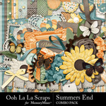 Summers End OLL Combo Pack-$4.99 (Ooh La La Scraps)