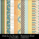 Summers end kit papers 2 small