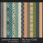 My Inner Child Pattern Paper Pack-$3.99 (Jumpstart Designs)