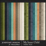 My Inner Child Plain Paper Pack-$3.99 (Jumpstart Designs)