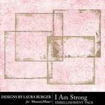 I Am Strong Edges Pack-$3.99 (Laura Burger)