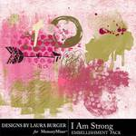 I Am Strong Brushes Pack-$4.99 (Laura Burger)
