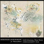 Lifes Journey Your Story Scatters Pack-$4.99 (Laura Burger)
