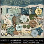 Lifes Journey Your Story Add On Emb Pack-$4.99 (Laura Burger)