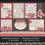 Kindness is Kewl Bits and Pieces-$3.00 (Jumpstart Designs)