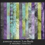 Love Bandit Blended Paper Pack-$3.99 (Jumpstart Designs)