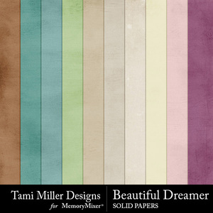 Beautiful dreamer solid papers medium