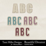 Beautiful Dreamer Alphabet Pack-$3.49 (Tami Miller)
