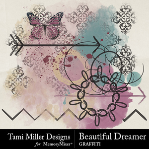 Beautiful dreamer graffiti medium