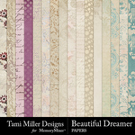 Beautiful Dreamer Paper Pack-$4.99 (Tami Miller)