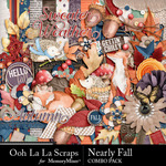 Nearly Fall Combo Pack-$3.50 (Ooh La La Scraps)