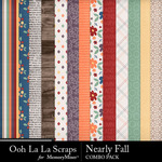 Nearly fall kit papers small