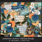 Fall Into Family Combo Pack-$8.99 (Jumpstart Designs)