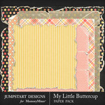My Little Buttercup Torn Paper Pack-$3.99 (Jumpstart Designs)