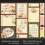 My Little Buttercup Journal Bits Pack-$3.99 (Jumpstart Designs)