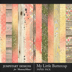My Little Buttercup Blended Paper Pack-$2.40 (Jumpstart Designs)