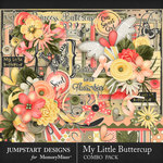 My Little Buttercup Combo Pack-$8.99 (Jumpstart Designs)