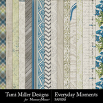 Everyday Moments TM Paper Pack-$4.99 (Tami Miller)