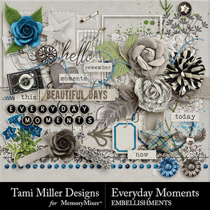 Everyday moments embellishments medium