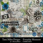 Everyday Moments TM Combo Pack-$8.99 (Tami Miller)