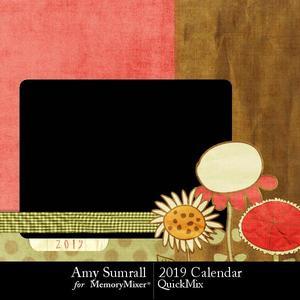 2019 calendar as p001 medium