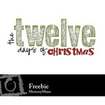 12 days of Christmas freebie-$0.00 (Karen Lewis)