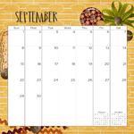 2019 calendar as p019 small