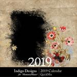 2019 Calendar ID-$5.99 (Indigo Designs)