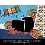 2019 Boys Calendar-$5.99 (Albums to Remember)