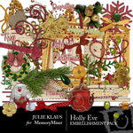Holly Eve Embellishment Pack-$3.00 (Julie Klaus)