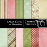 Christmas Promise Paper Pack-$3.49 (Karen Lewis)