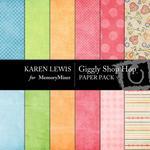Giggly Shop Hop Paper Pack-$3.49 (Karen Lewis)