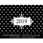 2019 Posh Calendar LS-$5.99 (Lasting Impressions)