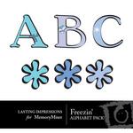 Freezin Alphabet Pack-$0.99 (Lasting Impressions)