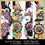 Little Spooks Page Borders Pack-$1.99 (Just So Scrappy)