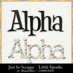 Little spooks kit alphabets small