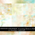 Counting Down to Fall Artsy Papers-$4.99 (Laura Burger)
