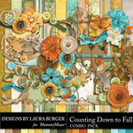 Counting Down to Fall Combo Pack-$8.99 (Laura Burger)