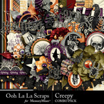 Creepy Combo Pack-$4.99 (Ooh La La Scraps)