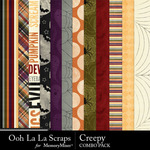 Creepy kit papers small