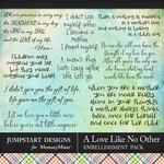 A Love Like No Other WordArt Pack-$2.40 (Jumpstart Designs)