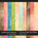 A Love Like No Other Blended Papers-$2.40 (Jumpstart Designs)